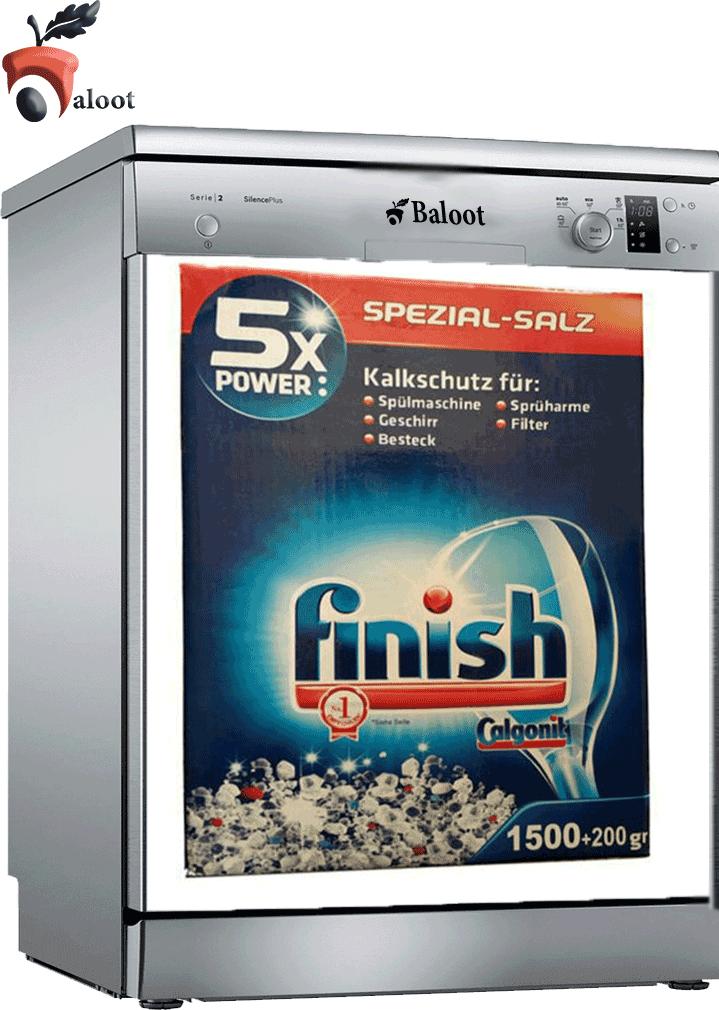 نمک ماشین ظرفشویی فینیش