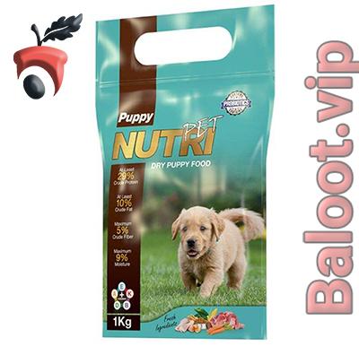 غذای خشک پروبیوتیک توله سگ نوتری پت مدل Puppy