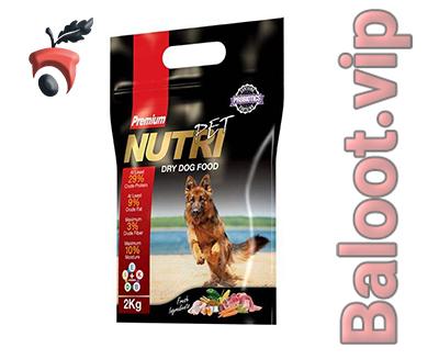 غذای خشک سگ پروبیوتیک نوتری پت مدل Premium 29 Percent
