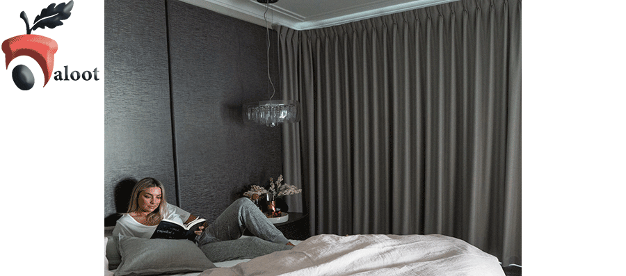 خواب راحت با نصب پرده های ضخیم