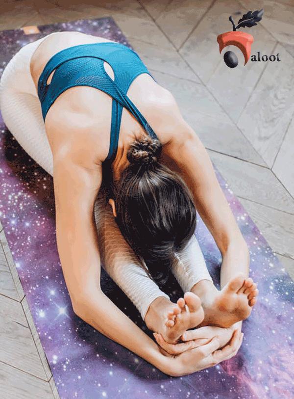خواب راحت با ورزش یوگا