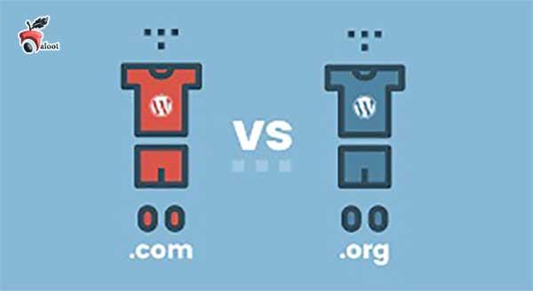 تفاوت بین WordPress.com و WordPress.org بلوط