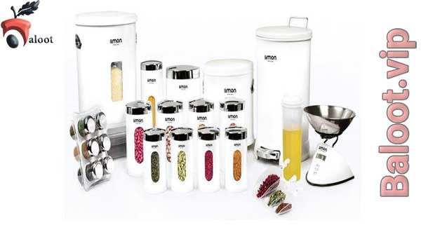 بهترین سرویس آشپزخانه لیمون-بلوط