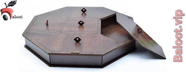 بهترین جعبه پذیرایی چوبی-بلوط