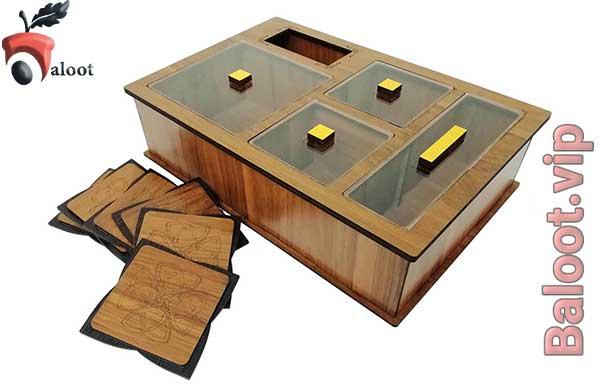 بهترین جعبه چای و دمنوش شیک-بلوط