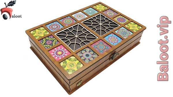 بهترین جعبه چوبی دمنوش-بلوط