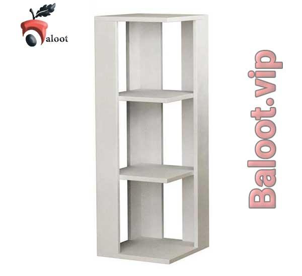 بهترین مدل کتابخانه دیواری کنج - بلوط