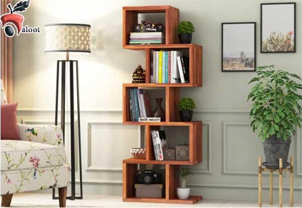 راهنمای خرید بهترین مدل کتابخانه برای خانه - بلوط