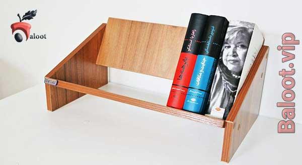 بهترین مدل کتابخانه رومیزی - بلوط