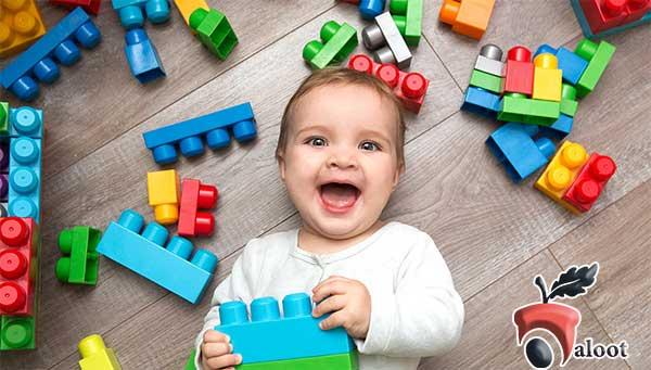 بهترین اسباب بازی برای کودکان 6 ماه تا یک سال-بلوط